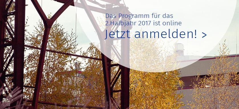 Slider Teaser: Programm 2. Halbjahr 2017