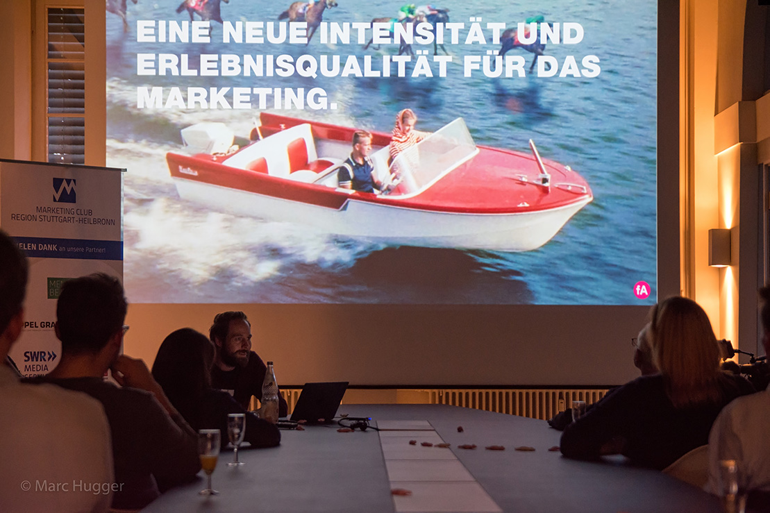 Marketing Club Region Stuttgart-Heilbronn Blogbeitrag: Der Marketing Club Stuttgart bei fischerAppelt, play in Stuttgart