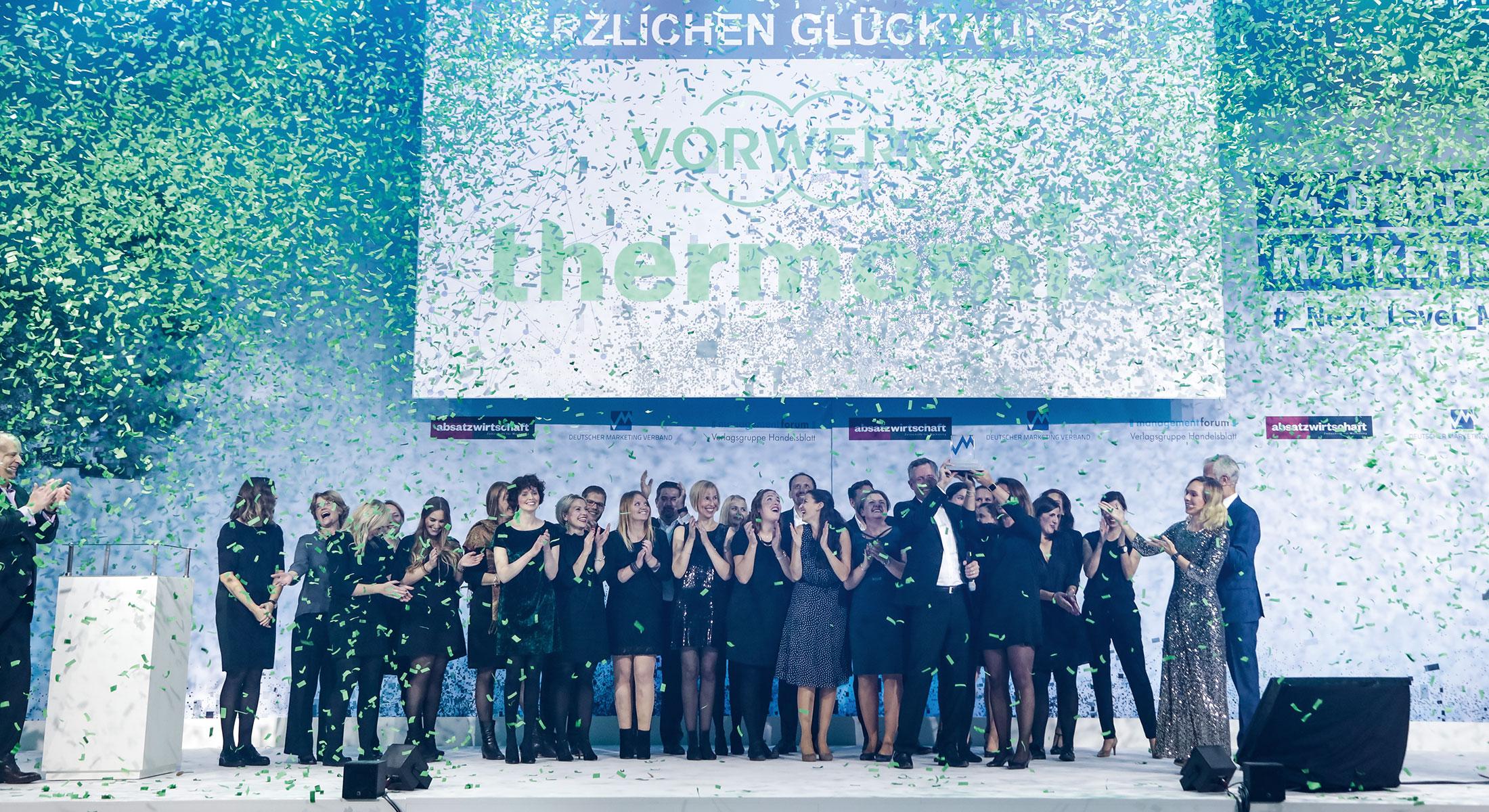 Marketing Club Region Stuttgart-Heilbronn Veranstaltung: Thermomix gewinnt den Deutschen Marketing Preis 2017