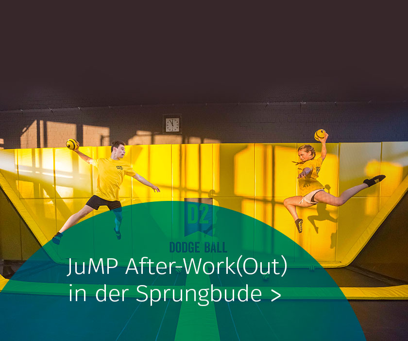 Marketing Club Region Stuttgart-Heilbronn Veranstaltung: JuMP After Work(Out) in der Sprungbude
