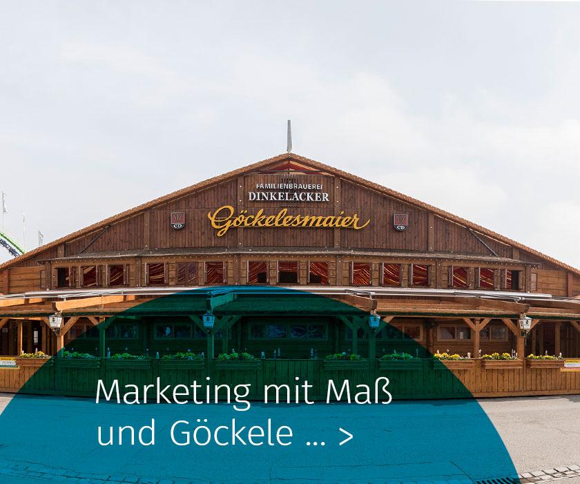 Marketing Club Region Stuttgart-Heilbronn Veranstaltung: Marketing mit Maß und Göckele
