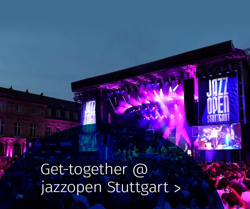 Marketing Club Region Stuttgart-Heilbronn Veranstaltung: Get Together @ Jazz Open Stuttgart