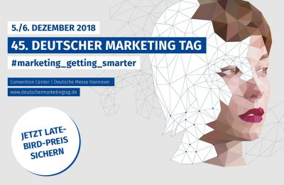 Marketing Club Region Stuttgart-Heilbronn: 45. DMT 2018 - Late Bird Preis Sichern!