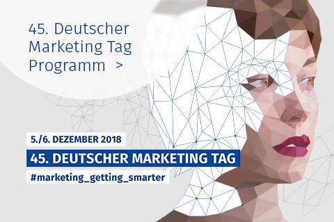 Marketing Club Region Stuttgart-Heilbronn: 45. DMT 2018 - Programm