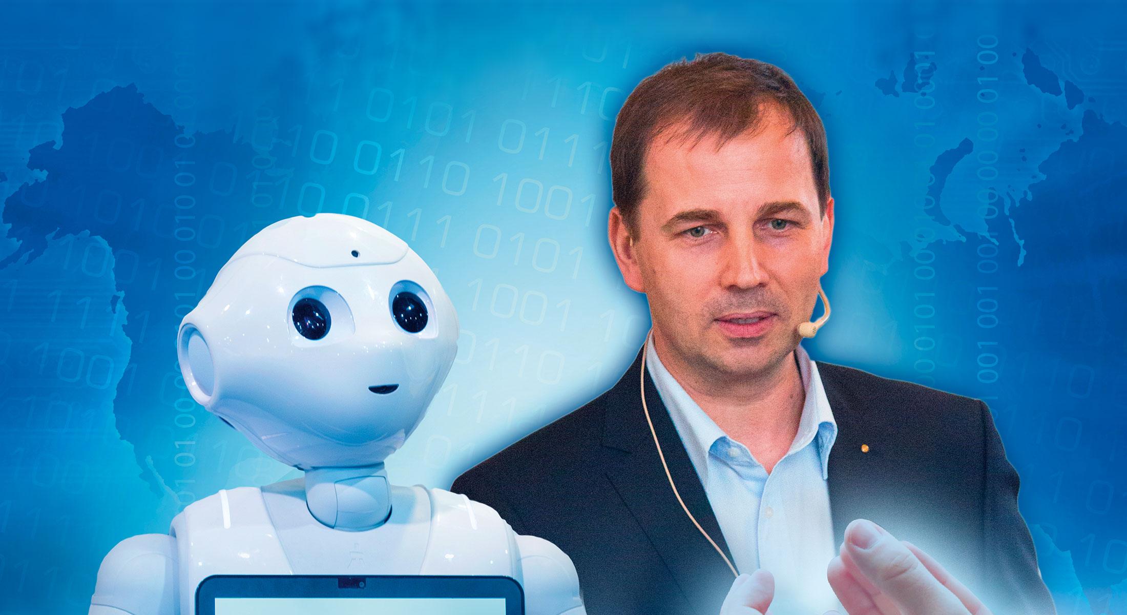 Marketing Club Region Stuttgart Heilbronn Veranstaltung: Jetzt spricht Roboter Octavius