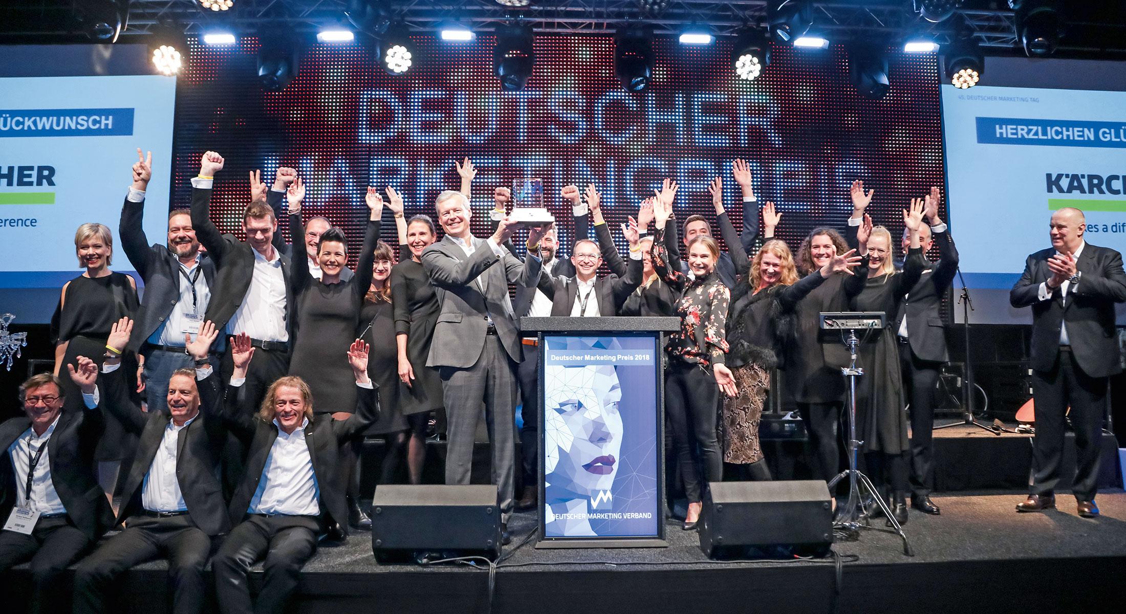 Marketing Club Region Stuttgart-Heilbronn Veranstaltung: DMT-Preisträger KÄRCHER