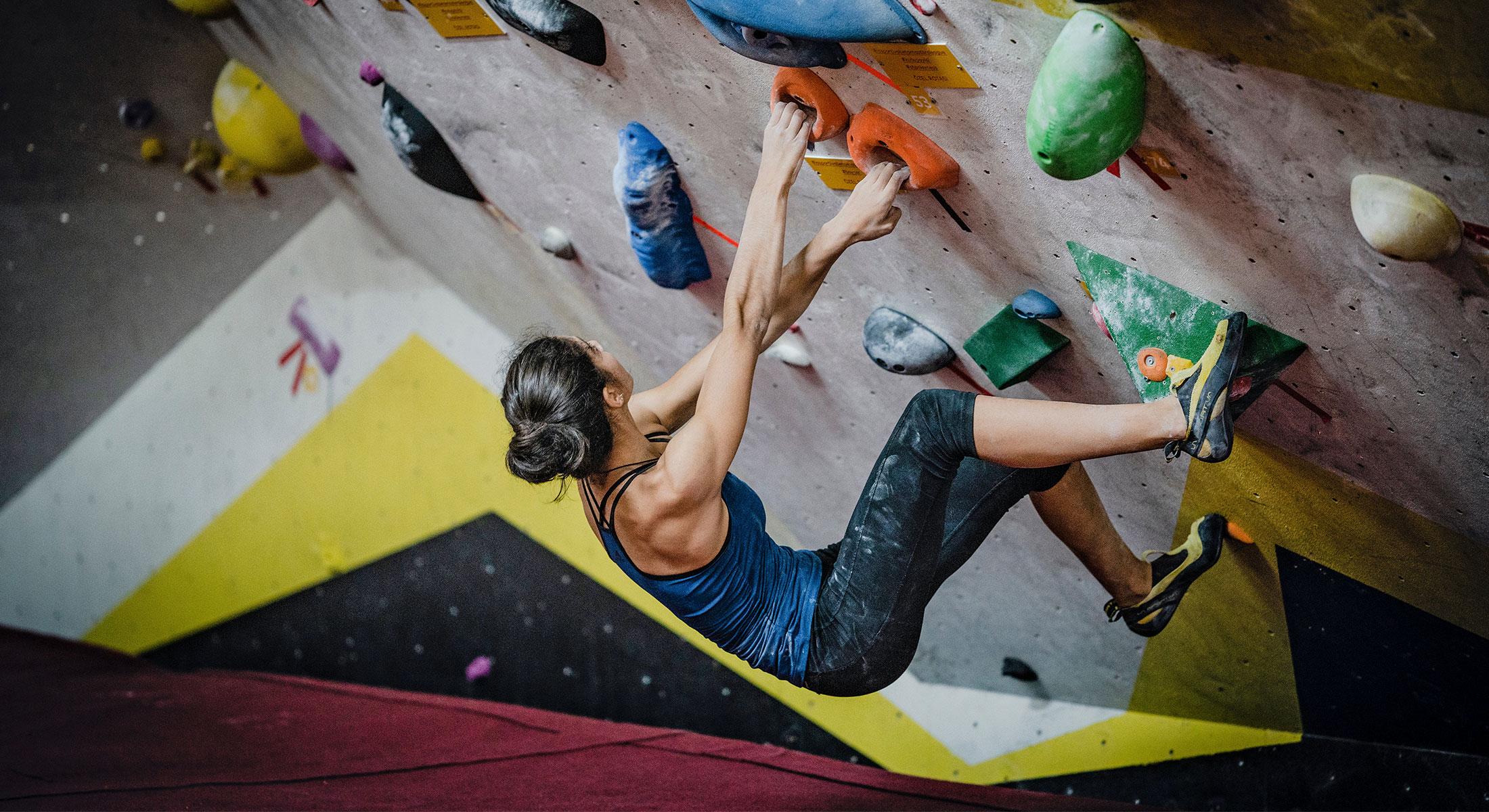 MCSH Veranstaltung JuMPs beim Bouldern